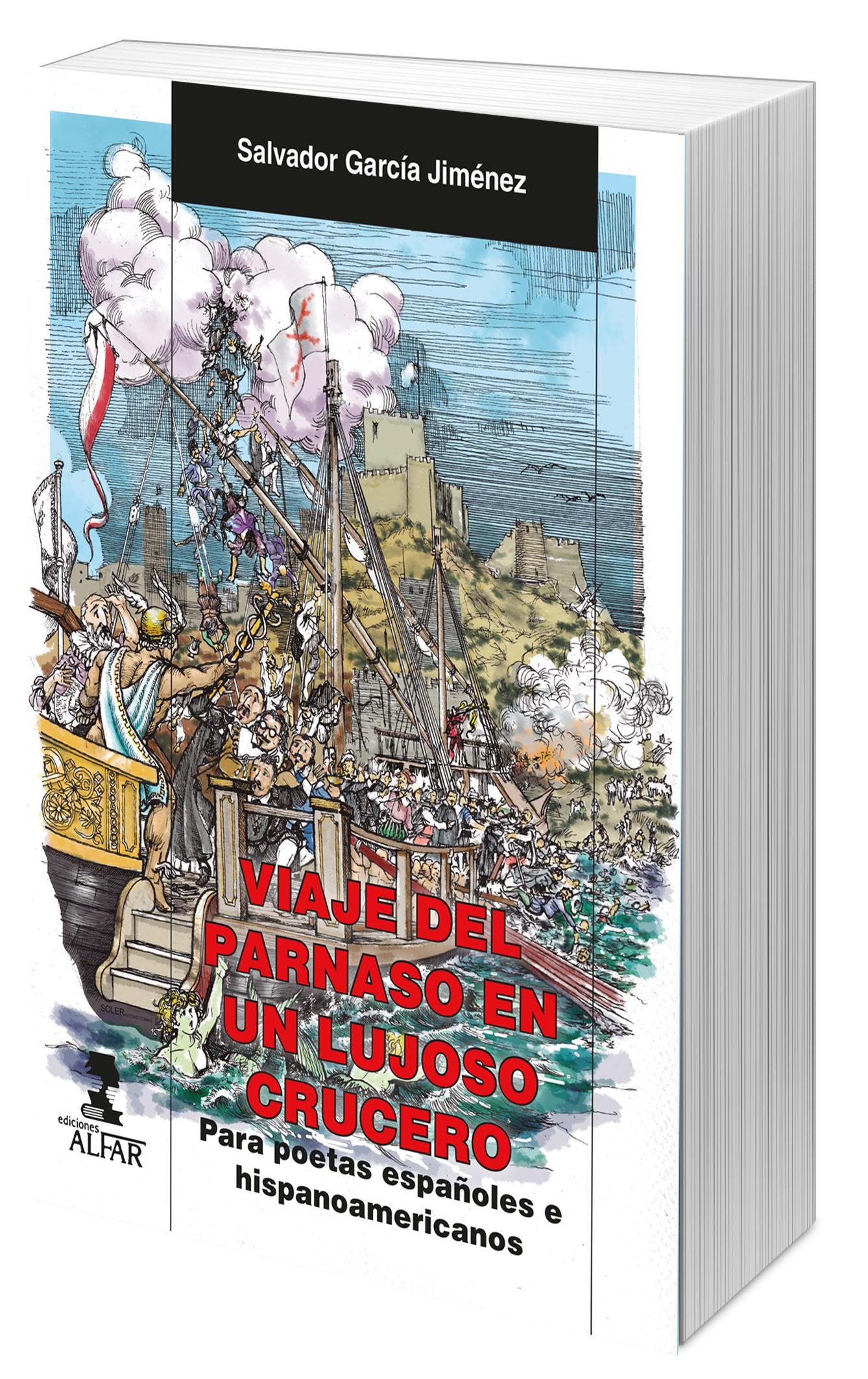 Magnífica entrevista que realiza Juan de Dios García para EL COLOQUIO DE LOS PERROS a Salvador García Jiménez y Viaje del parnaso en un lujoso crucero