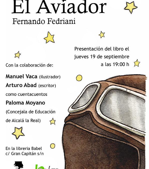 Presentación El Aviador. Librería Babel (Granada) 19 de septiembre