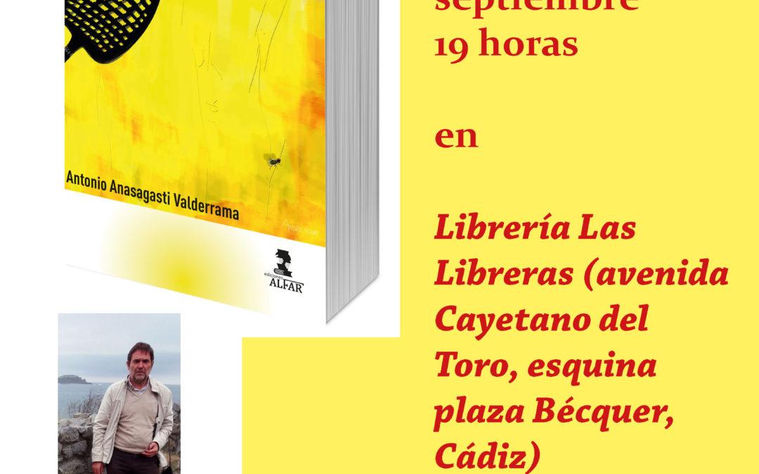 Presentación Algunos asesinatos duelen más en Librería Las Libreras, Cádiz