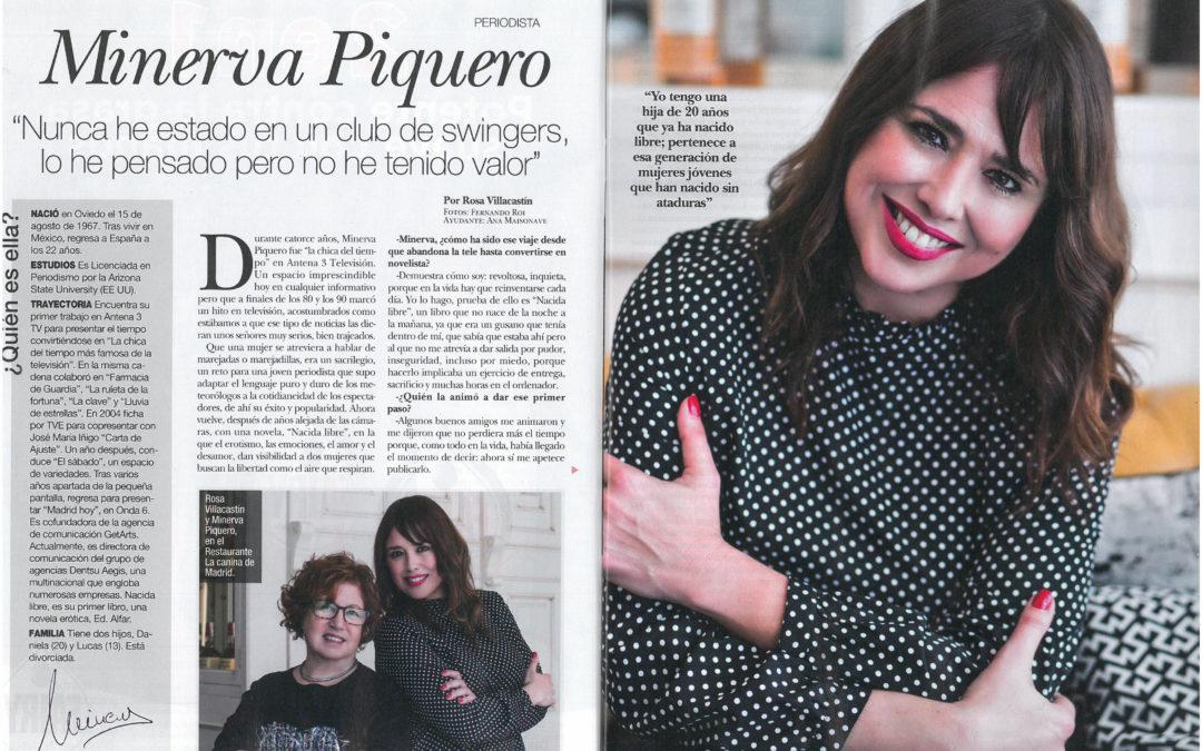 Entrevista a Minerva Piquero y Nacida en Diez Minutos