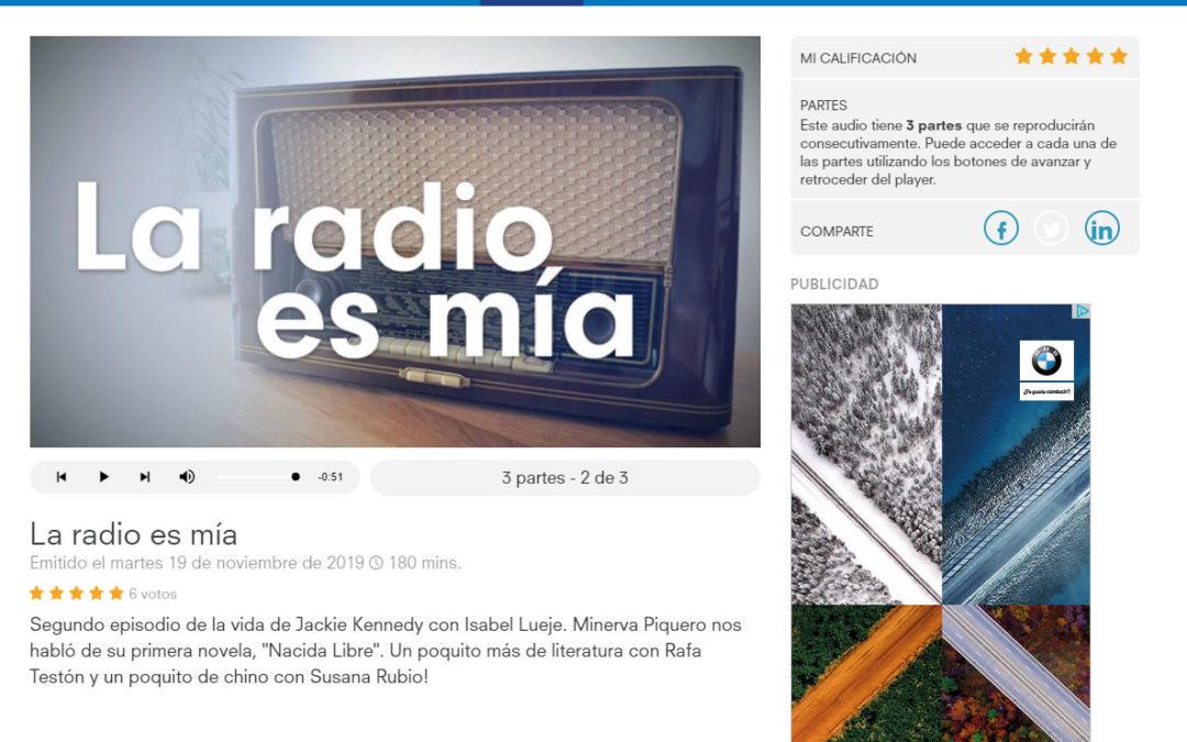 Entrevista en La Radio es Mía de RTPA a Minerva Piquero y su Nacida Libre