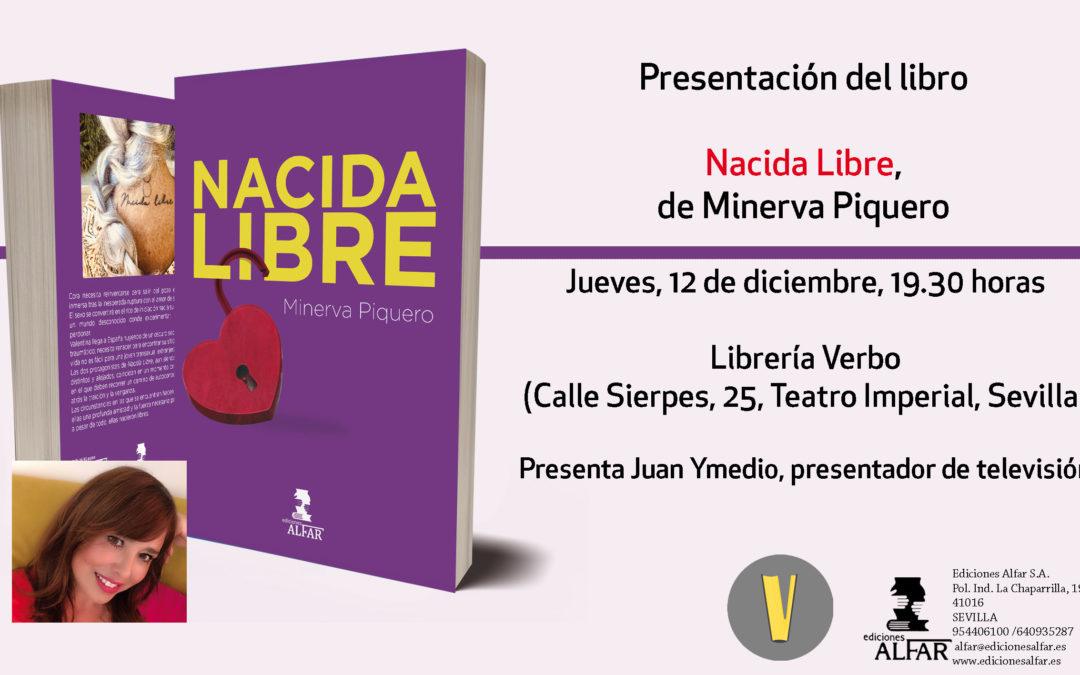 Presentación de Nacida Libre de Minerva Piquero en Sevilla