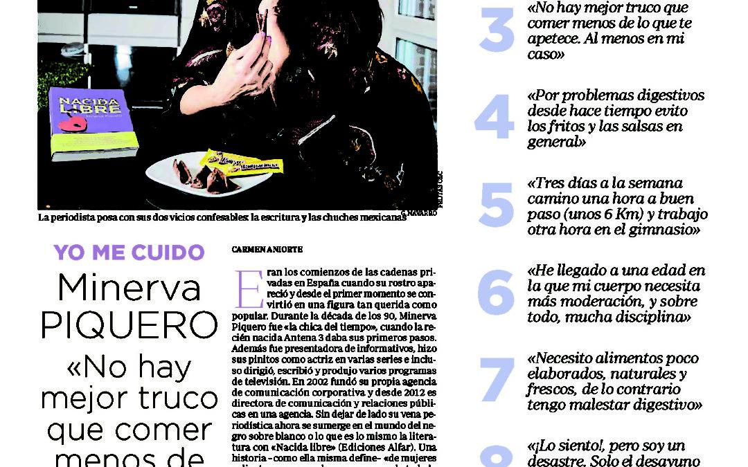 Nacida Libre y Minerva Piquero en ABC/Salud
