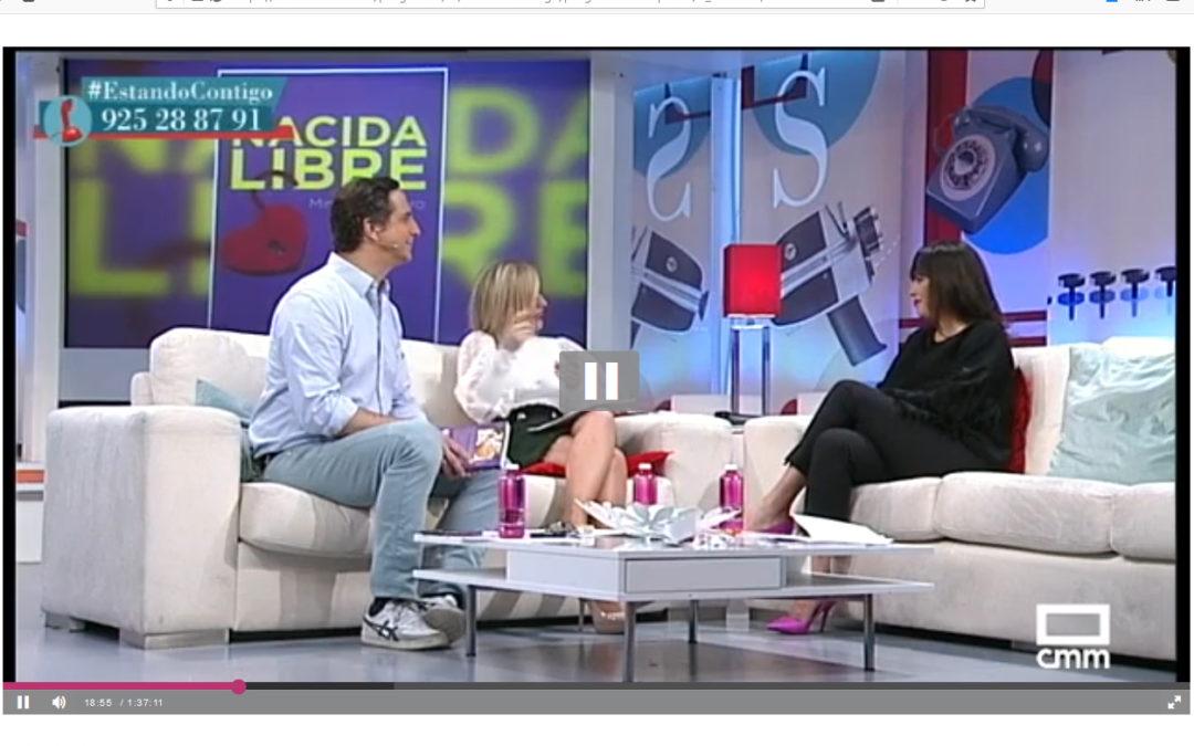 Entrevista a Minerva Piquero y Nacida Libre en Estando Contigo, Castilla La Mancha Televisión