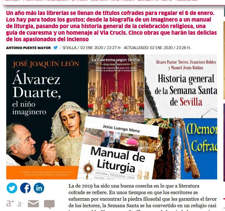 La Cuaresma según Sevilla recomendada en El Correo de Andalucía