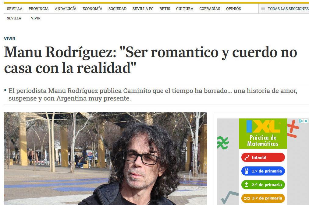Caminito que el tiempo ha borrado… de Manu Rodríguez en Diario de Sevilla