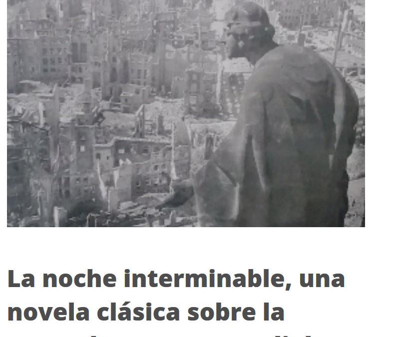 Mas Leer se hace eco de la novela de Emilio Pariente, La noche interminable