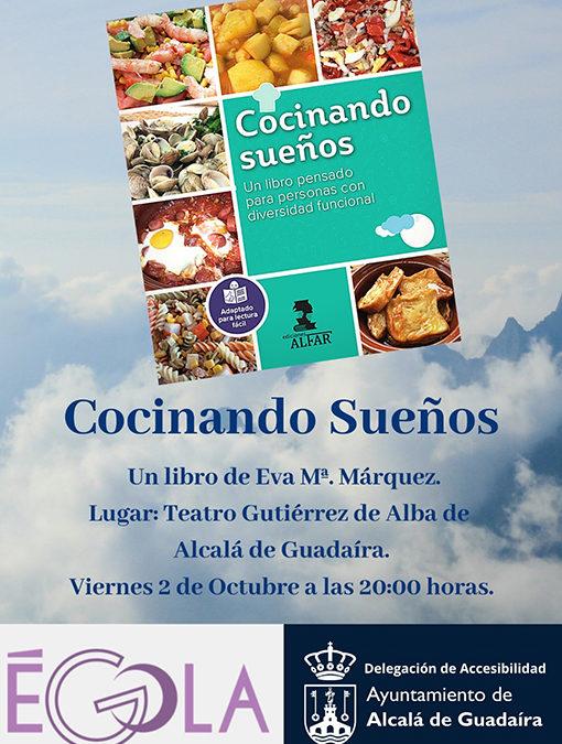 Presentación del libro Cocinando Sueños de Eva Mª Márquez Roldán
