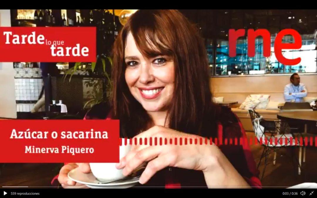 Minerva Piquero en Azúcar o Sacarina con Tere Vilas en Tarde lo que tarde de RNE