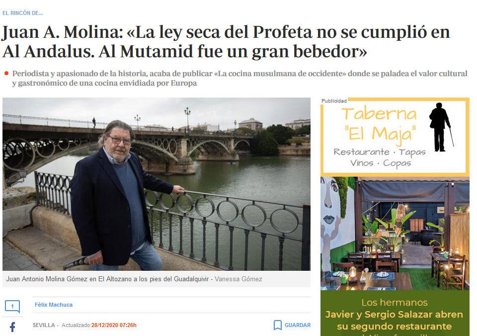 La cocina musulmana de Occidente en ABC de Sevilla
