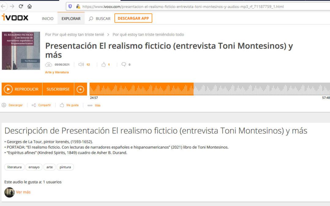 El Realismo Ficticio de Toni Montesinos en Radio Vallekas